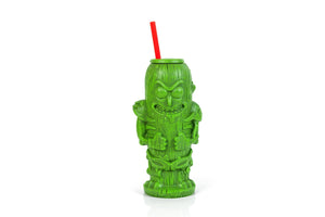 Rick and Morty Pickle Rick 22oz Geeki Tiki Plastic Tumbler