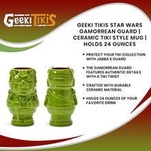 Load image into Gallery viewer, Geeki Tikis Star Wars Gamorrean Guard | Ceramic Tiki Style Mug | Holds 24 Ounces