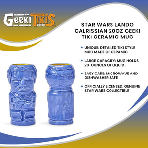 Star Wars Lando Calrissian 20oz Geeki Tiki Ceramic Mug