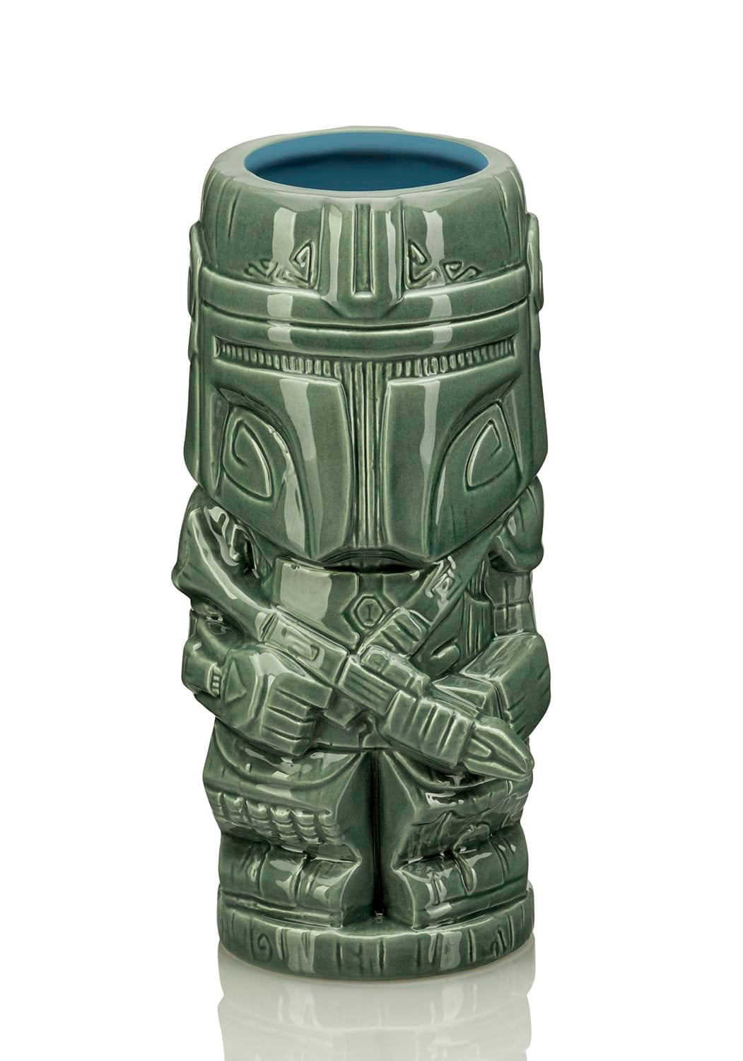 Geeki Tikis Star Wars The Mandalorian Mando Mug | Ceramic Tiki Cup | 20 Ounces