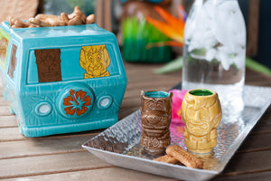 Geeki Tikis Scooby-Doo Mystery Machine Punch Bowl | Shaggy & Scooby Mini Muglets