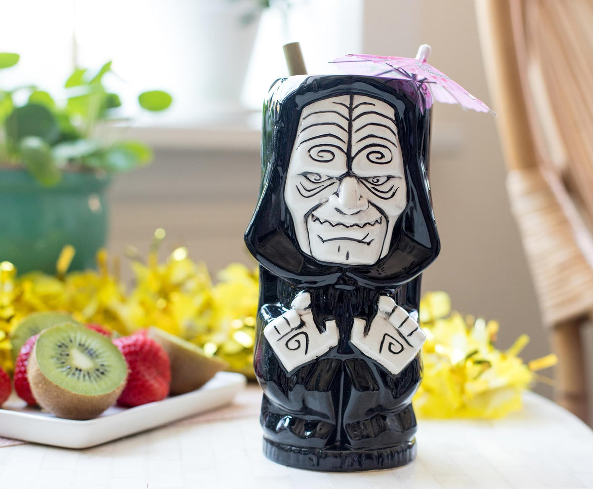 Geeki Tikis Star Wars Emperor Palpatine Ceramic Mug | Holds 18 Ounces