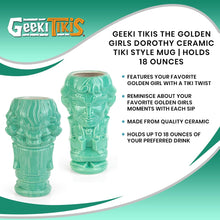 Load image into Gallery viewer, Geeki Tikis The Golden Girls Dorothy Ceramic Tiki Style Mug | Holds 18 Ounces