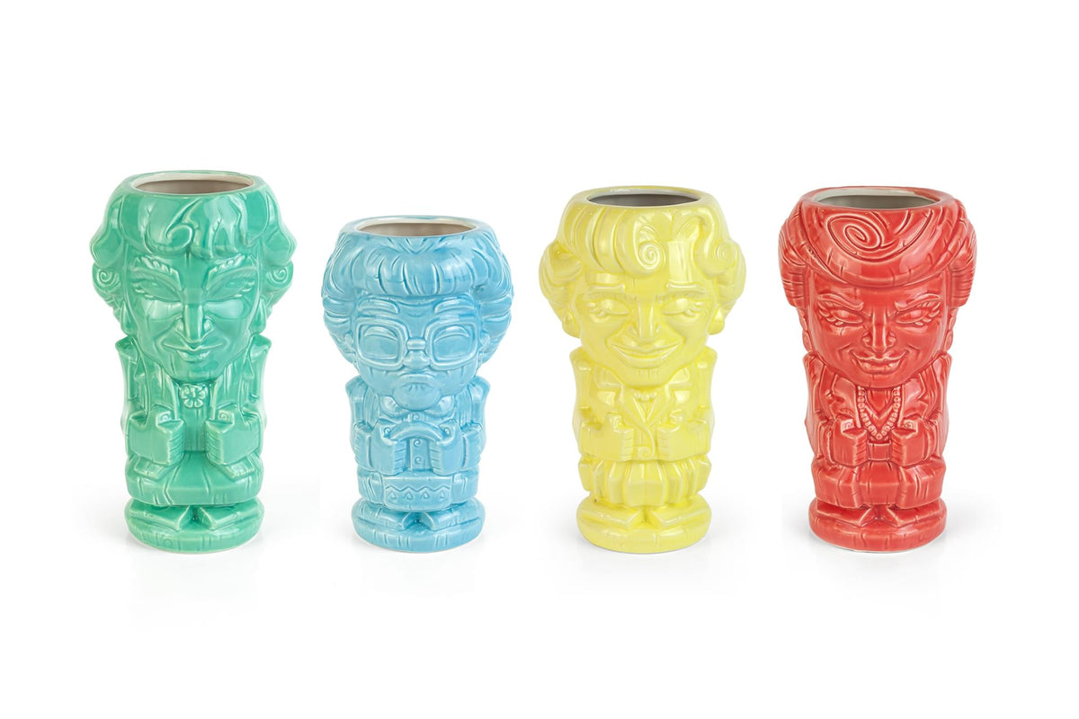 Geeki Tikis The Golden Girls Ceramic Mugs | Set of 4
