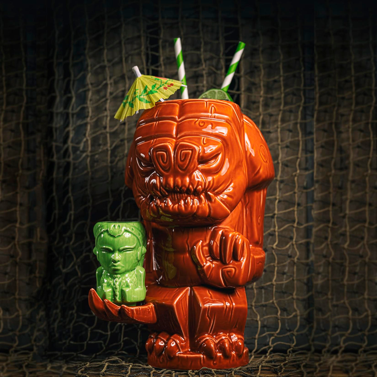 Geeki Tikis Star Wars Rancor & Oola Collectible Tiki Style Drink Mugs | Set Of 2