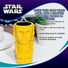 Load image into Gallery viewer, Geeki Tikis Star Wars C-3PO Mug | Crafted Ceramic | Holds 14 Ounces