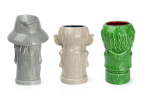 Geeki Tikis Lord Of The Rings Frodo, Gandalf, Gollum Cup Set of 3