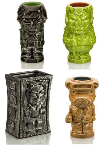 Star Wars Series 3 Ceramic Geeki Tiki Mugs Set of 4