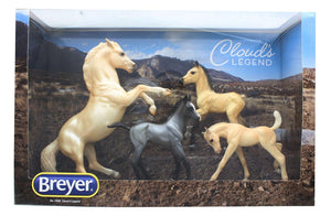 Breyer Classics 1/12 Model Horse Set - Cloud's Legend