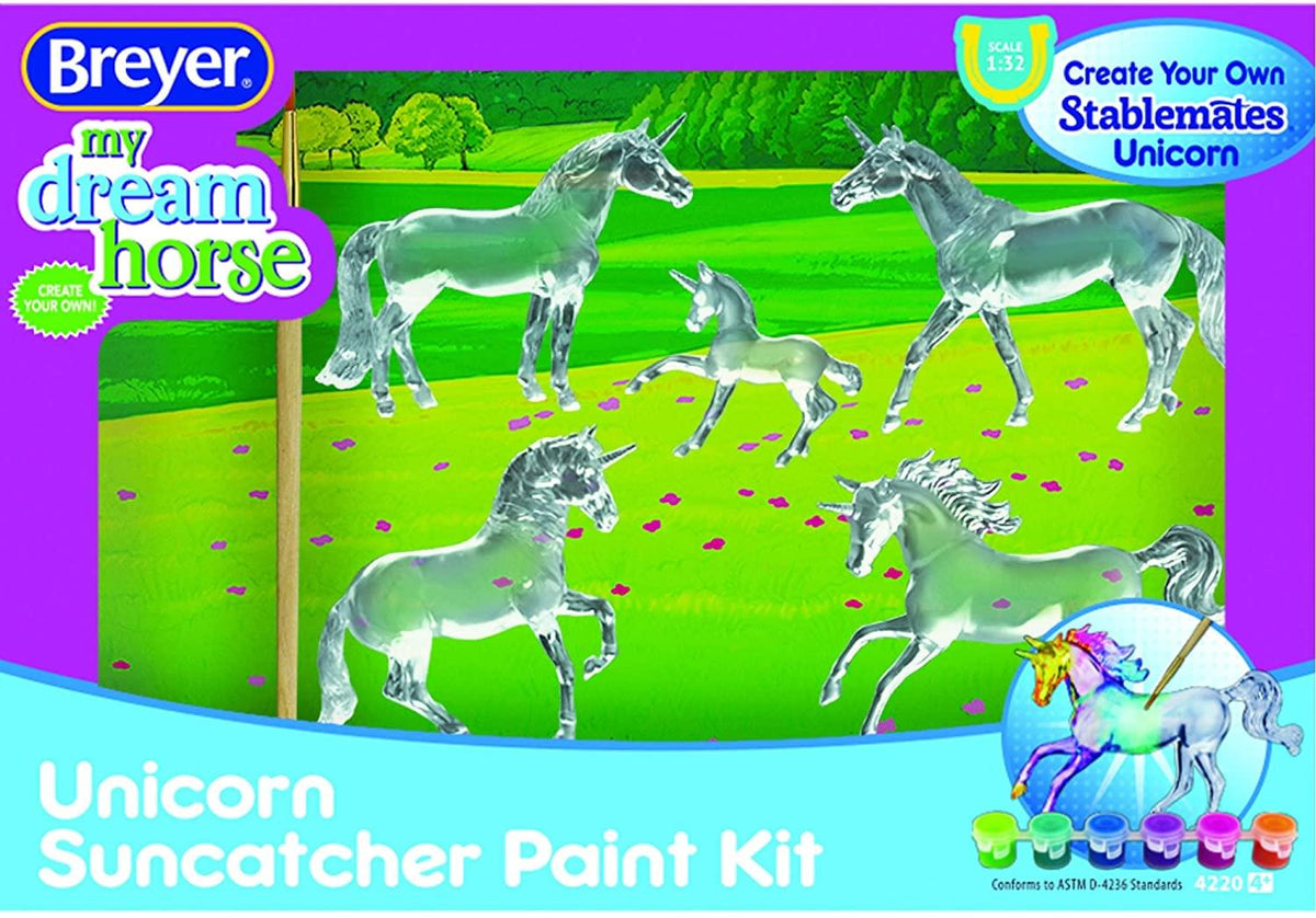 Suncatcher 1:32 Stablemates Unicorns | 5-Piece Model Horse Paint Kit