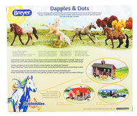 Breyer 1:32 Stablemates  4-Pack Dapples & Dots Model Horse