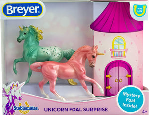 Breyer Stablemates Mystery Unicorn Foal Surprise | Set B