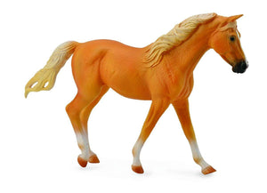 Breyer CollectA Series Missouri Palomino Fox Trotter Mare Model Horse