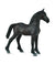 Breyer CollectA 1/18 Model Horse - Black Friesian Foal