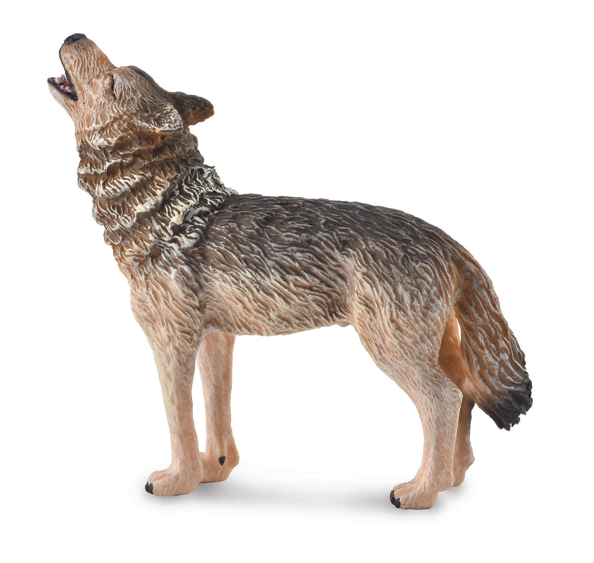 CollectA Wildlife Collection Miniature Figure | Forest Wolf Howling