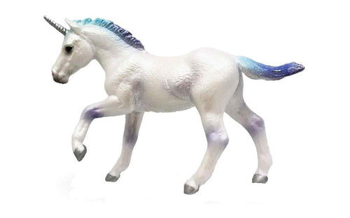 Breyer CollectA 1:18 Scale Model Horse | Unicorn Foal Rainbow