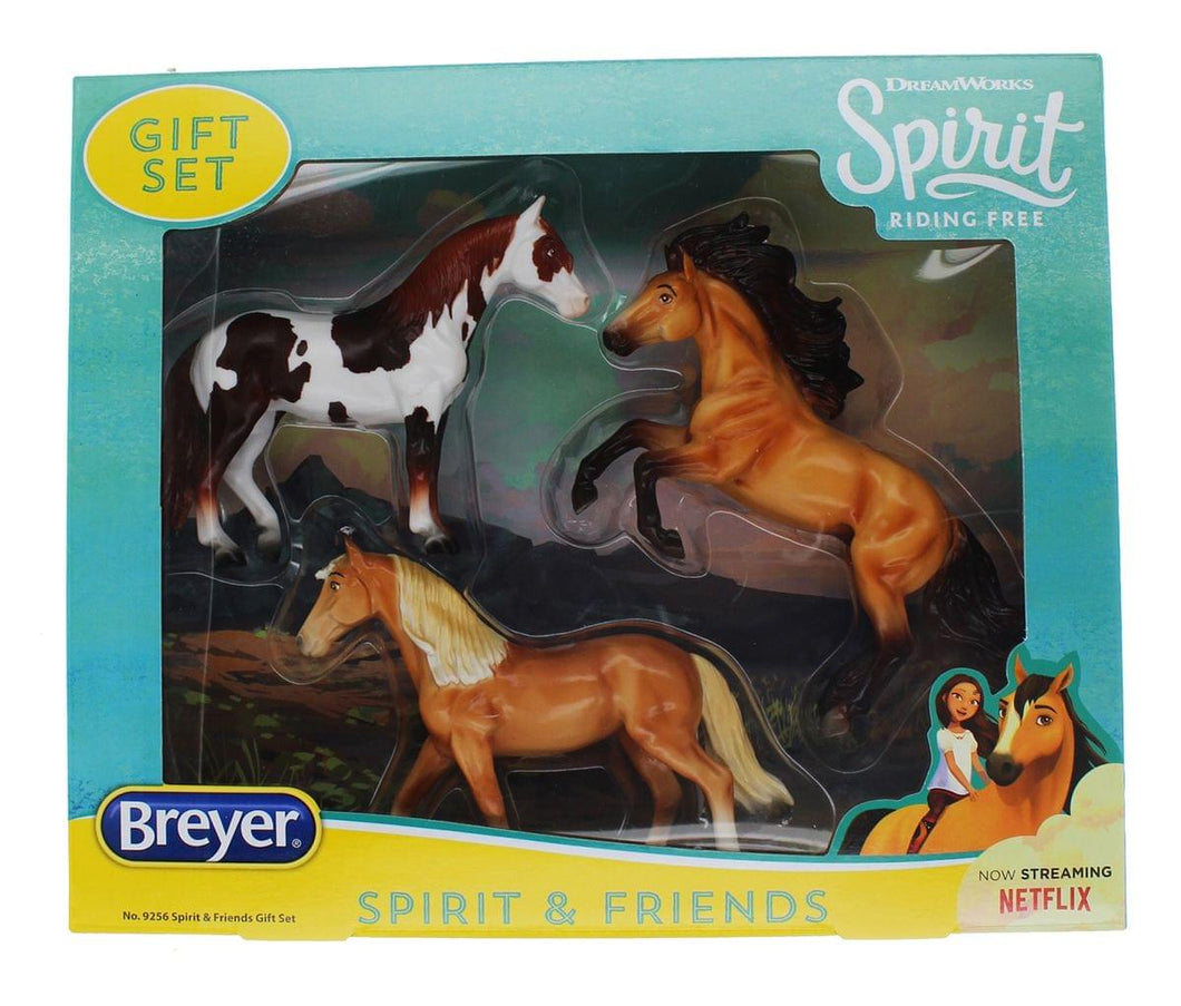Breyer Spirit Riding Free Spirit & Friends Model Horse Gift Set