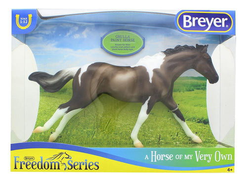 Breyer Classics 1/12 Model Horse - Grulla Paint Horse