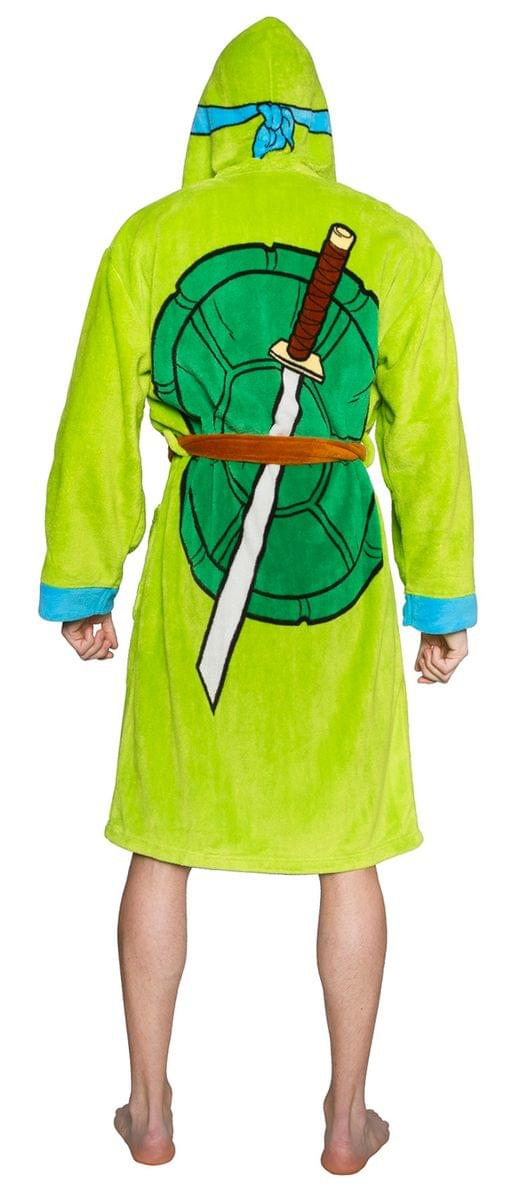 Teenage Mutant Ninja Turtles Adult Costume Robe, Leonardo