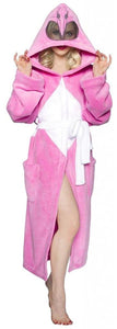 Power Rangers Adult Costume Robe, Pink