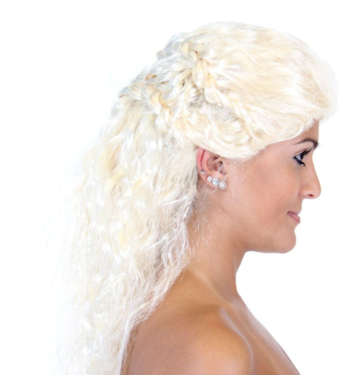 Medieval Queen Costume Wig