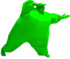 Inflatable Chub Suit Costume: Green