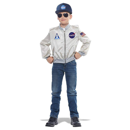 NASA Child Costume Flight Jacket - Medium