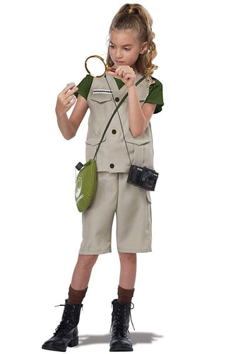 Wild Life Expert/Archaeologist Child Costume