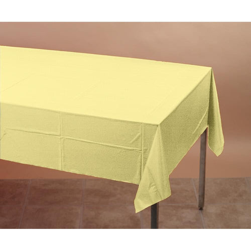 Touch Of Color Plastic Tablecover Mimosa