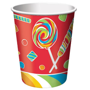 8 Pack 9Oz Cups Sugar Buzz
