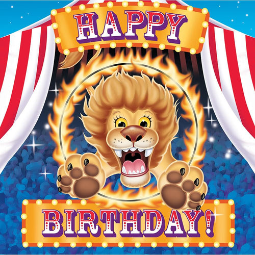 16 Pack Luncheon Napkins Big Top Birthday