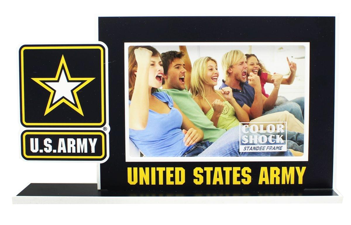 "U.S. Army Color Shock 4""X6"" Standee Picture Frame"
