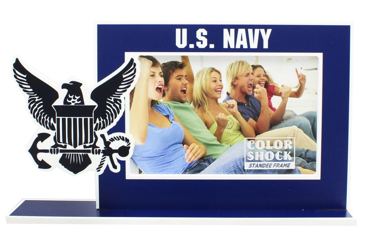"U.S. Navy Color Shock 4""X6"" Standee Picture Frame"