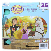 Load image into Gallery viewer, Disney Tangled 25 Piece Kids Foam Jigsaw Puzzle