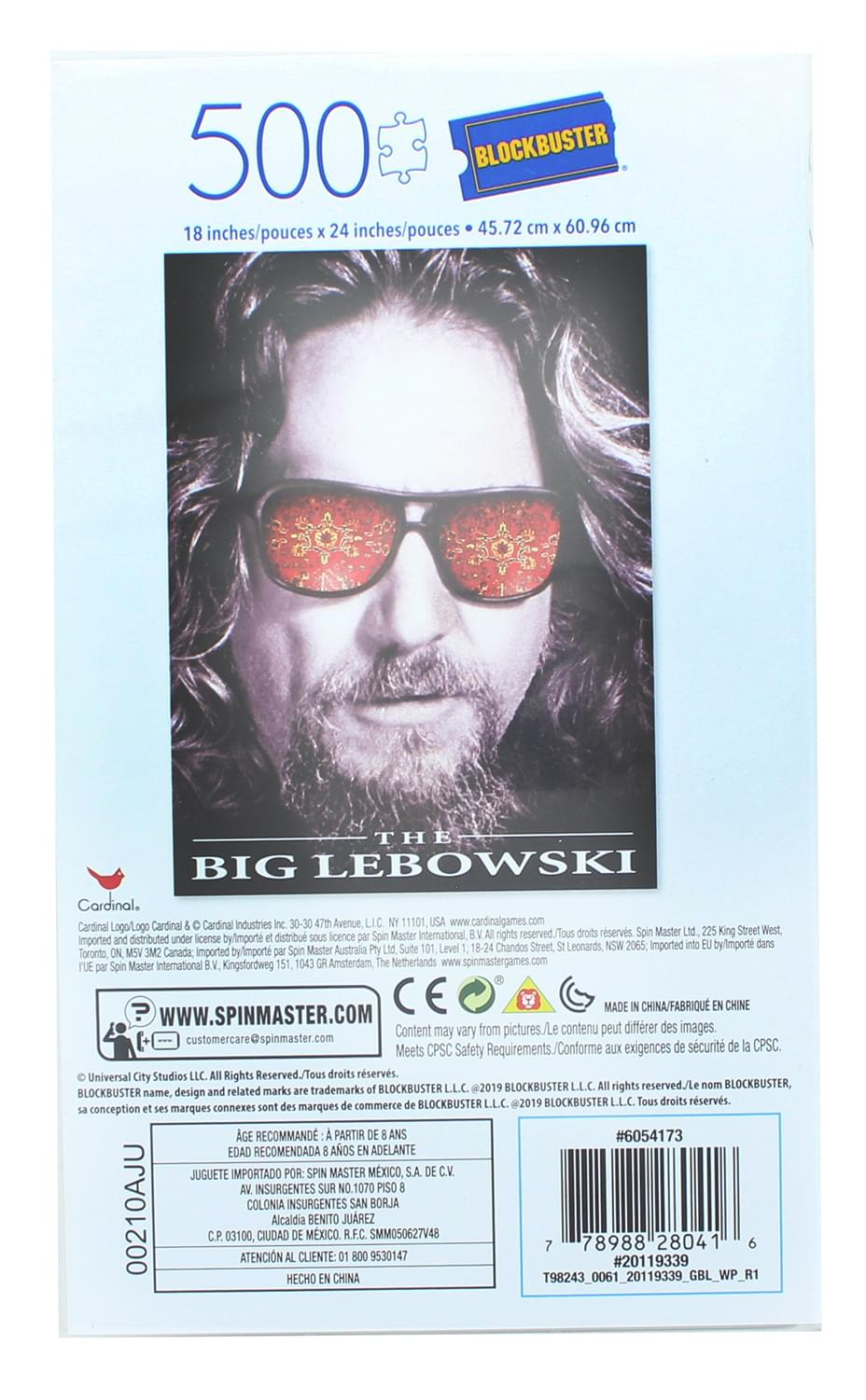 The Big Lebowski 500 Piece Jigsaw Puzzle in Plastic VHS Video Case
