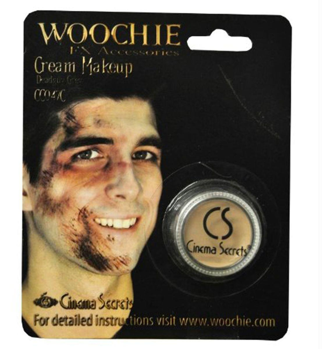 Deadguy Zombie Grey Cream Costume Make Up 1/8 oz Carded