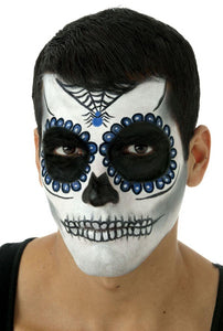 Day Of The Dead Costume Makeup Blue Kit