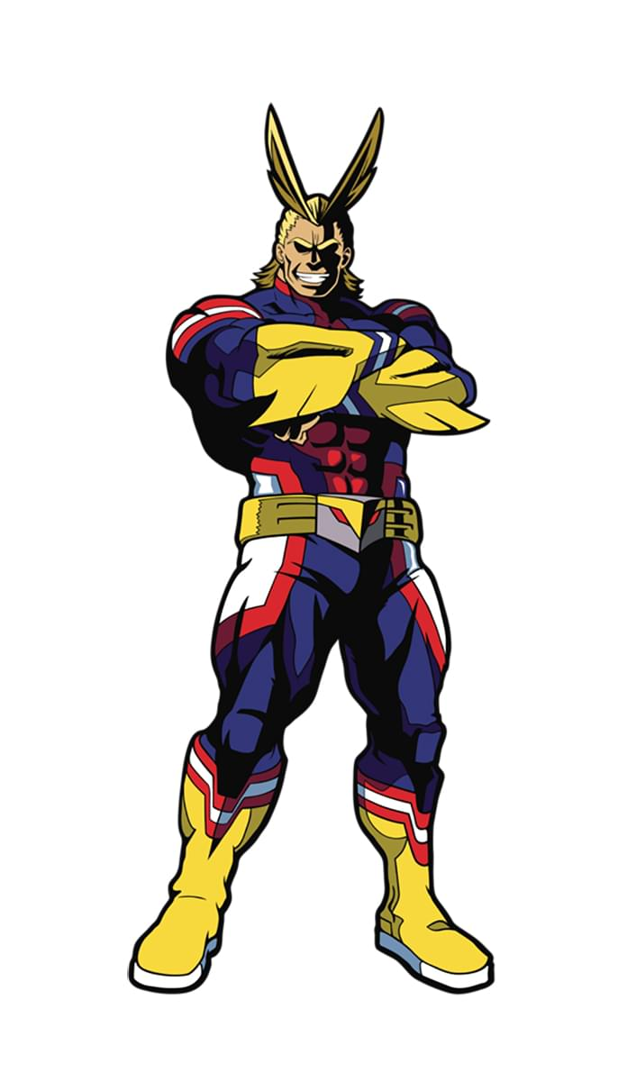 My Hero Acadamia 3 Inch Collectible Enamel FiGPiN - All Might