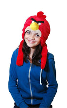 Load image into Gallery viewer, Commonwealth Toys Angry Birds Red Bird Plush Hat