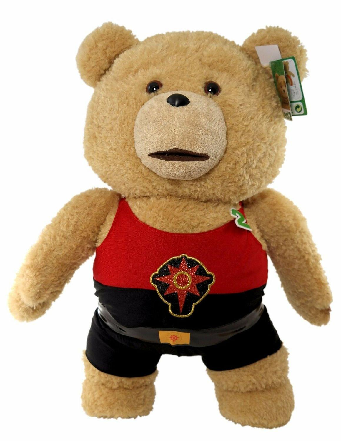 Ted 2 Talking Ted In Flash Outfit 24 Inch Plush Teddy Bear - Explicit