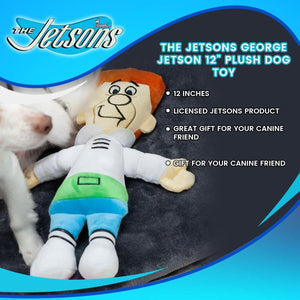"The Jetsons George Jetson 12"" Plush Dog Toy"