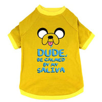 "Adventure Time ""Jake Saliva"" Pet T-Shirt"