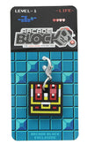 8-Bit Treasure Chest Zipper Pull (Arcade Block Exclusive)