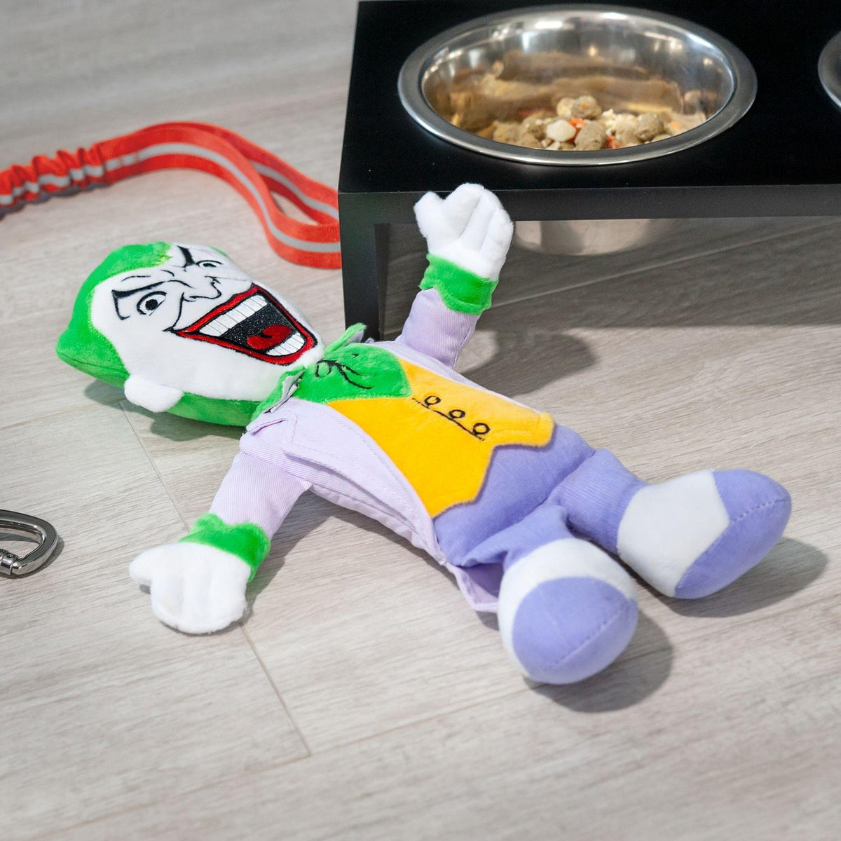 DC Comics The Joker 13 Inch Plush Squeaker Dog Chew Toy