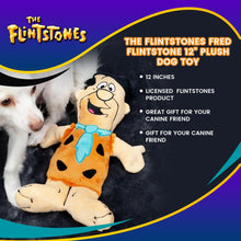 "Load image into Gallery viewer, The Flintstones Fred Flintstone 12"" Plush Dog Toy"