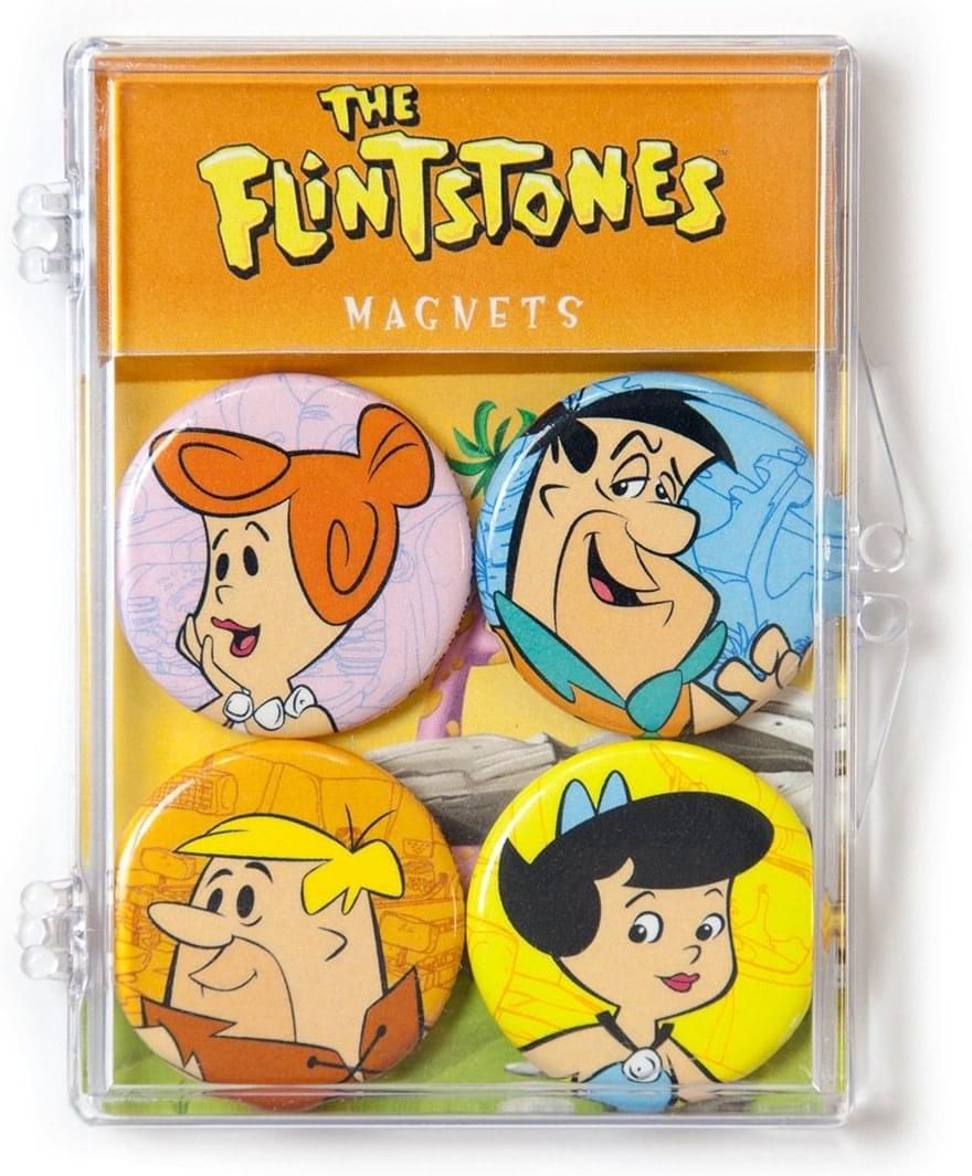 Hanna-Barbera The Flintstones Magnet 4-Pack