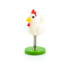 Load image into Gallery viewer, Crowded Coop Legend of Zelda Springz Chicken Dashboard Accessory