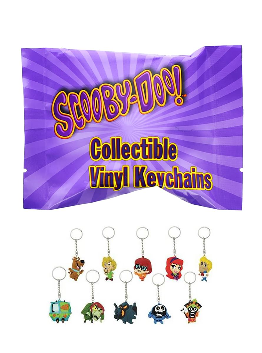 Scooby-Doo Blind Box Vinyl Keychain - One Random