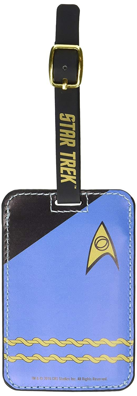 Star Trek Blue Uniform Luggage Tag