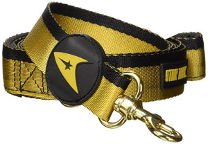 Star Trek Starfleet Gold Uniform 6ft. Dog Leash